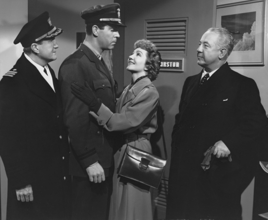 Tom Powers, Fred MacMurray, Claudette Colbert, Cecil Kellaway