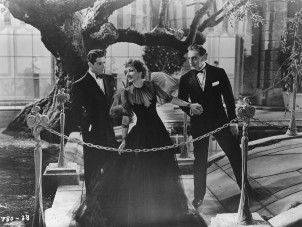 Claudette Colbert, John Barrymore