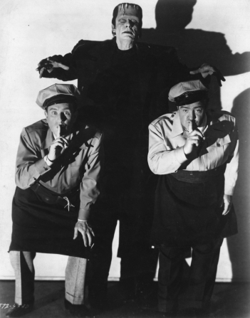 Bud Abbott, Lou Costello, Glenn Strange