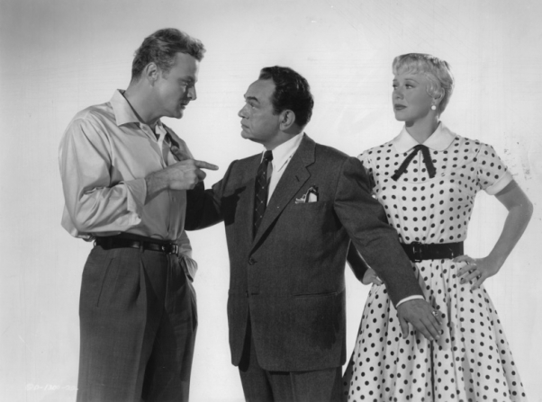 Brian Keith, Edward G. Robinson, Ginger Rogers