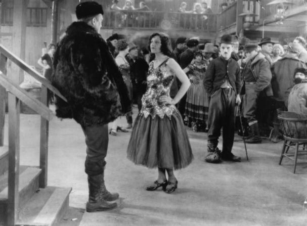 Malcolm Waite, Georgia Hale, Charles Chaplin