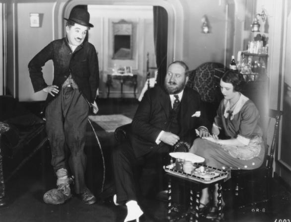 Charles Chaplin, Mack Swain