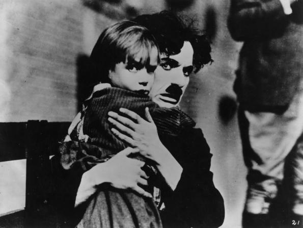 Jackie Coogan, Charles Chaplin