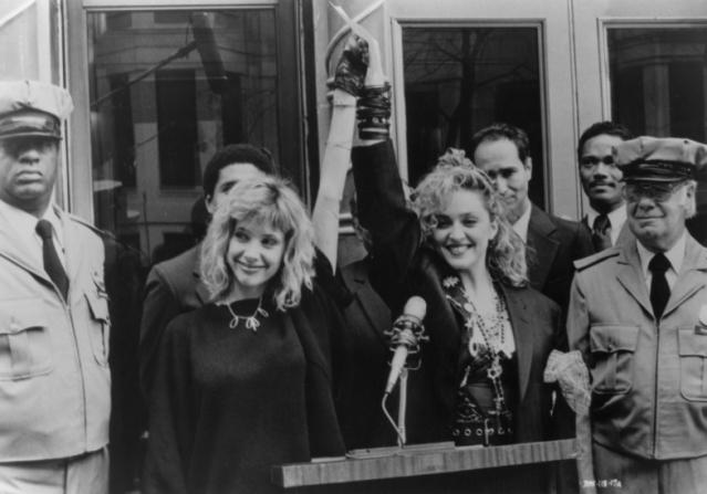 Rosanna Arquette, Madonna