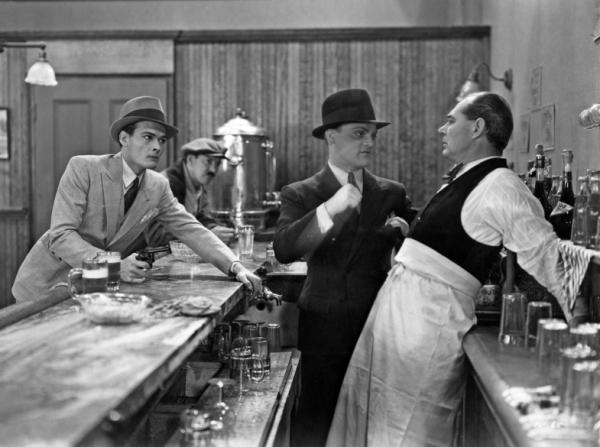 Edward Woods, James Cagney