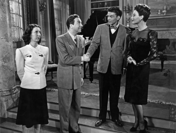 Mary Wickes, Jack Haley, Michèle Morgan, Frank Sinatra