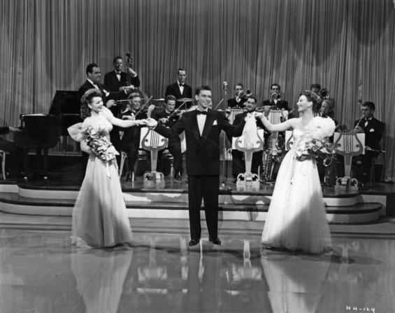 Frank Sinatra, Michèle Morgan