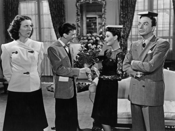 Mary Wickes, Frank Sinatra, Michèle Morgan, Jack Haley