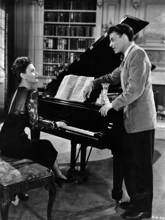 Michèle Morgan, Frank Sinatra