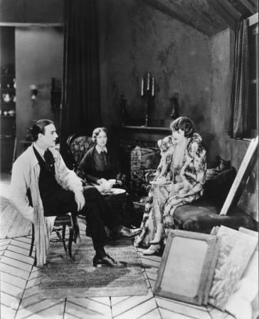Carl Miller, Lydia Knott, Edna Purviance