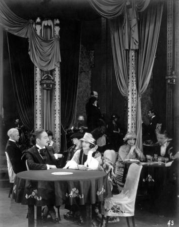 Adolphe Menjou, Edna Purviance