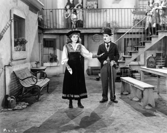 Paulette Goddard, Charles Chaplin