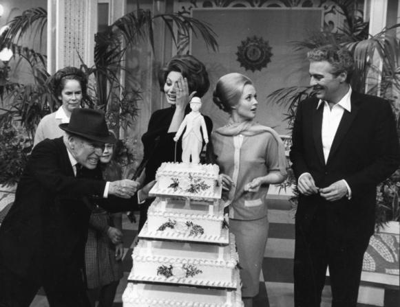 Charles Chaplin, Oona Chaplin, Melanie Griffith, Sophia Loren, Tippi Hedren, Sydney Chaplin