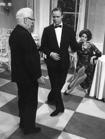 Charles Chaplin, Marlon Brando, Sophia Loren