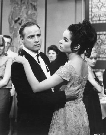 Marlon Brando, Geraldine Chaplin