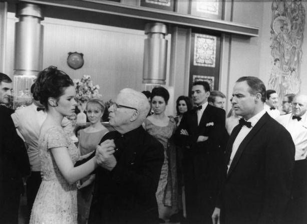 Geraldine Chaplin, Charles Chaplin, Marlon Brando