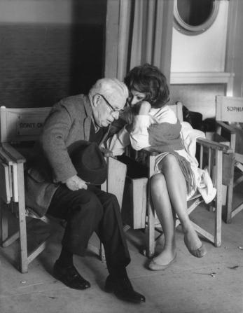 Charles Chaplin, Sophia Loren