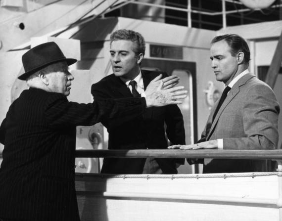 Charles Chaplin, Sydney Chaplin, Marlon Brando