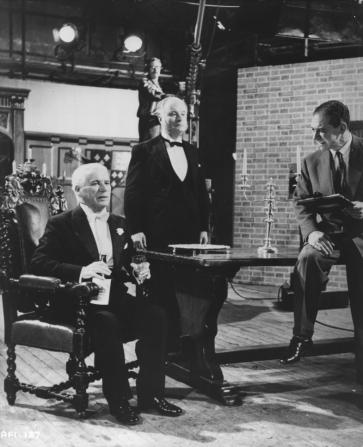 Charles Chaplin, Sidney James, Nicholas Tanner