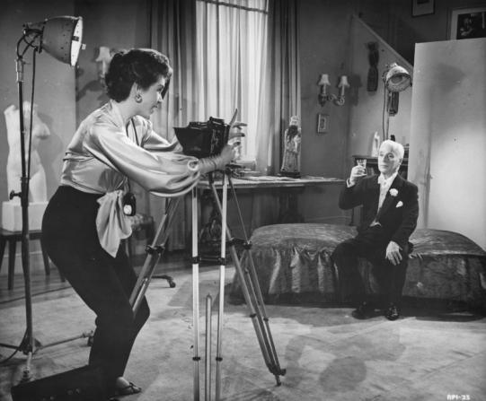 Dawn Addams, Charles Chaplin