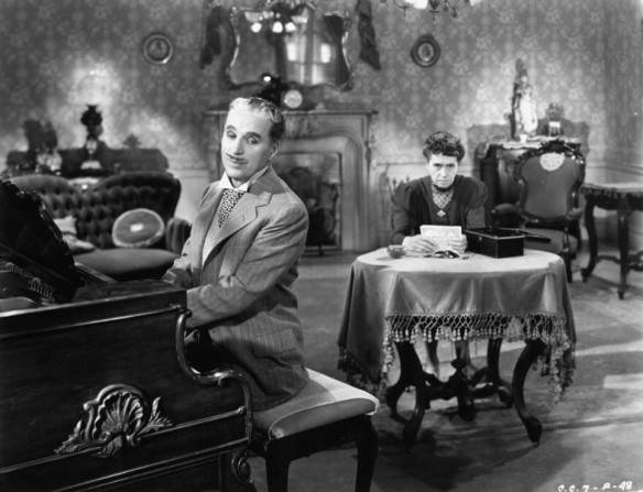 Charles Chaplin, Margaret Hoffman