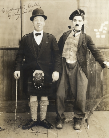 Charles Chaplin, Harry Lauder