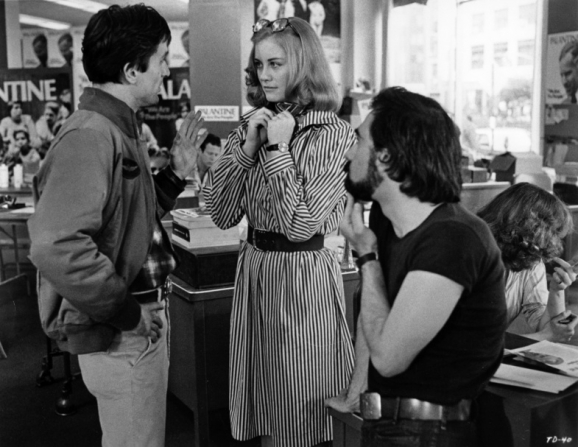 Robert De Niro, Cybill Shepherd, Martin Scorsese