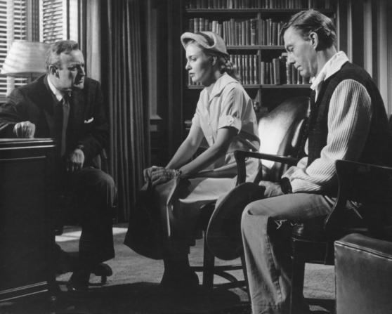 Lee J. Cobb, Joanne Woodward, David Wayne