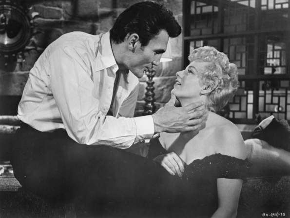 Jack Palance, Shelley Winters