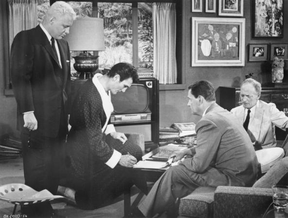 Rod Steiger, Jack Palance, Wendell Corey, Everett Sloane
