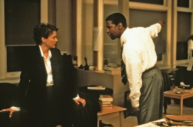 Annette Bening, Denzel Washington