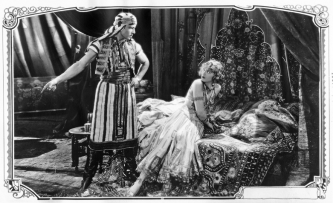 Rudolph Valentino, Agnes Ayres