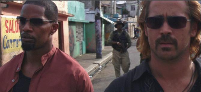 Jamie Foxx, Colin Farrell