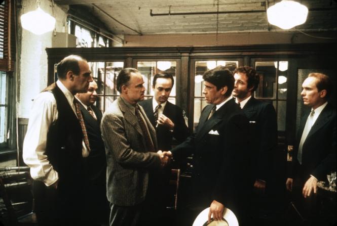 Marlon Brando, Ben Welden, James Caan