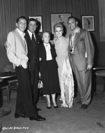 Frank Sinatra, Kim Novak, George Sidney