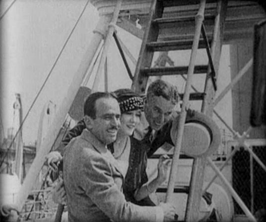 Douglas Fairbanks Sr, Mary Pickford, Charles Chaplin