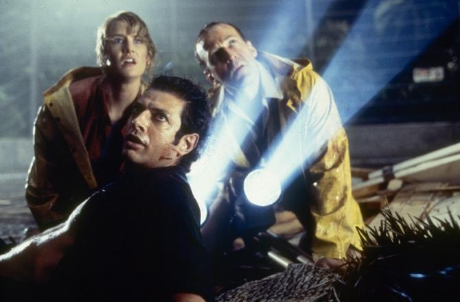 Laura Dern, Bob Peck, Jeff Goldblum