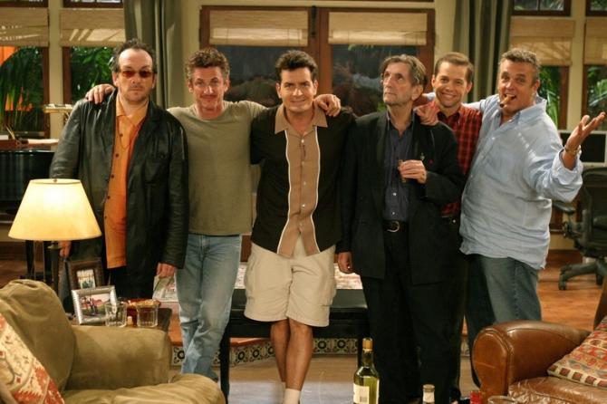 Elvis Costello, Sean Penn, Harry Dean Stanton, Bobby Cooper, Jon Cryer, Angus T. Jones, Charlie Sheen
