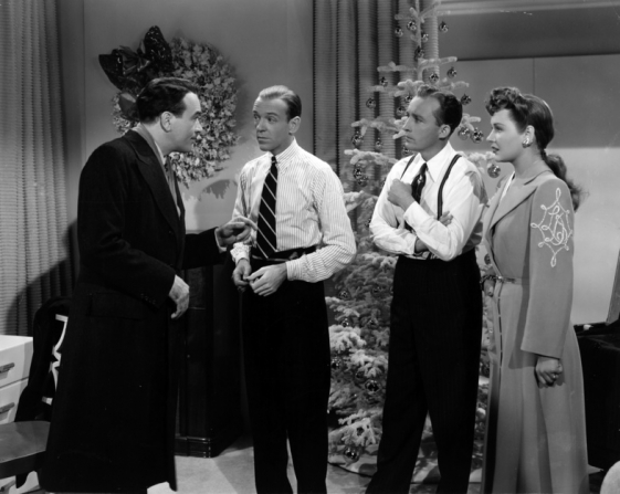 Walter Abel, Fred Astaire, Bing Crosby, Virginia Dale