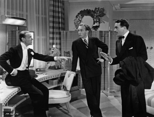 Fred Astaire, Bing Crosby, Walter Abel