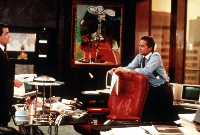 Charlie Sheen, Michael Douglas