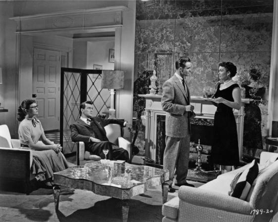 Gloria Talbott, Rock Hudson, William Reynolds, Jane Wyman