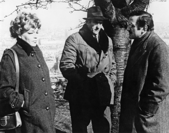 Simone Signoret, Lino Ventura