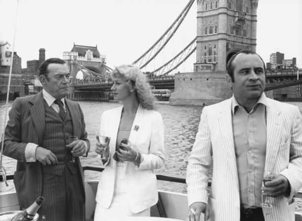 Helen Mirren, Bob Hoskins, Eddie Constantine