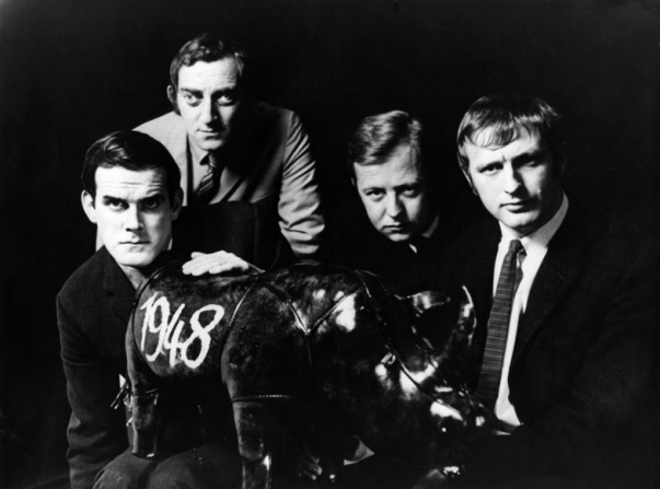 John Cleese, Marty Feldman, Tim Brooke-taylor, Graham Chapman