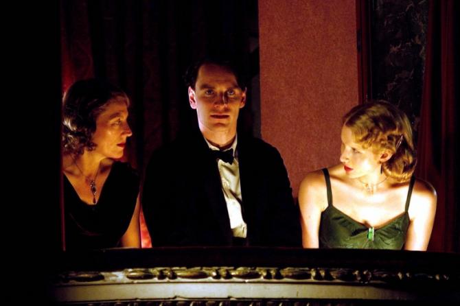 Geraldine James, Michael Fassbender, Lucy Punch