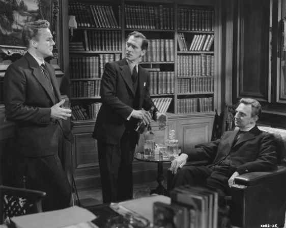 Van Johnson, Peter Cushing, Stephen Murray
