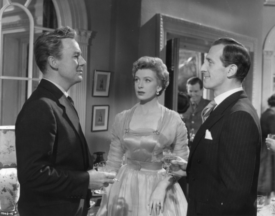 Van Johnson, Deborah Kerr, Peter Cushing