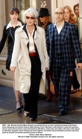 Anne Hathaway, Meryl Streep, Stanley Tucci