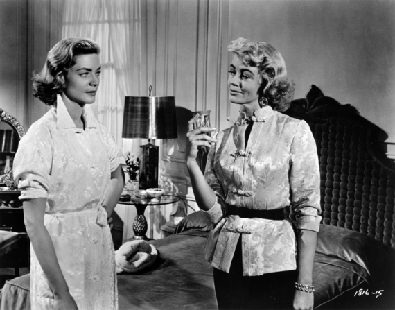 Lauren Bacall, Dorothy Malone